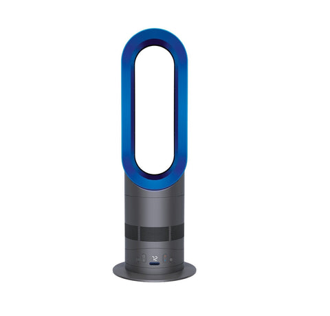 Dyson AM05 Hot + Cool Bladeless Fan - Iron & Blue - 1