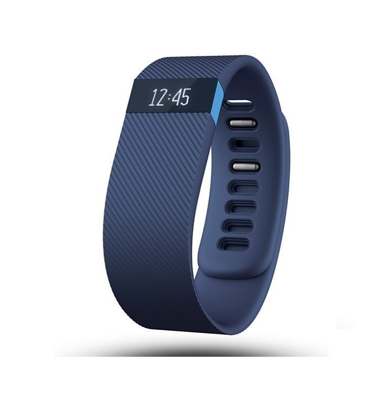 Fitbit Charge Activity Wristband - Blue - large - 1