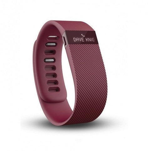 Fitbit Charge Activity Wristband - Burgundy - 1