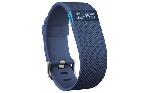 Fitbit Charge HR Activity Wristband - Blue - large - 1