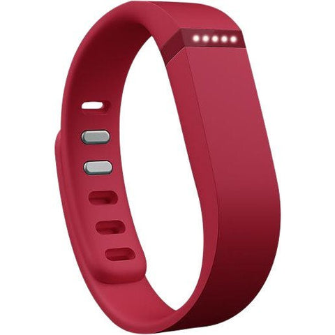 Fitbit Flex Fitness Tracker Wristband - Red - 1