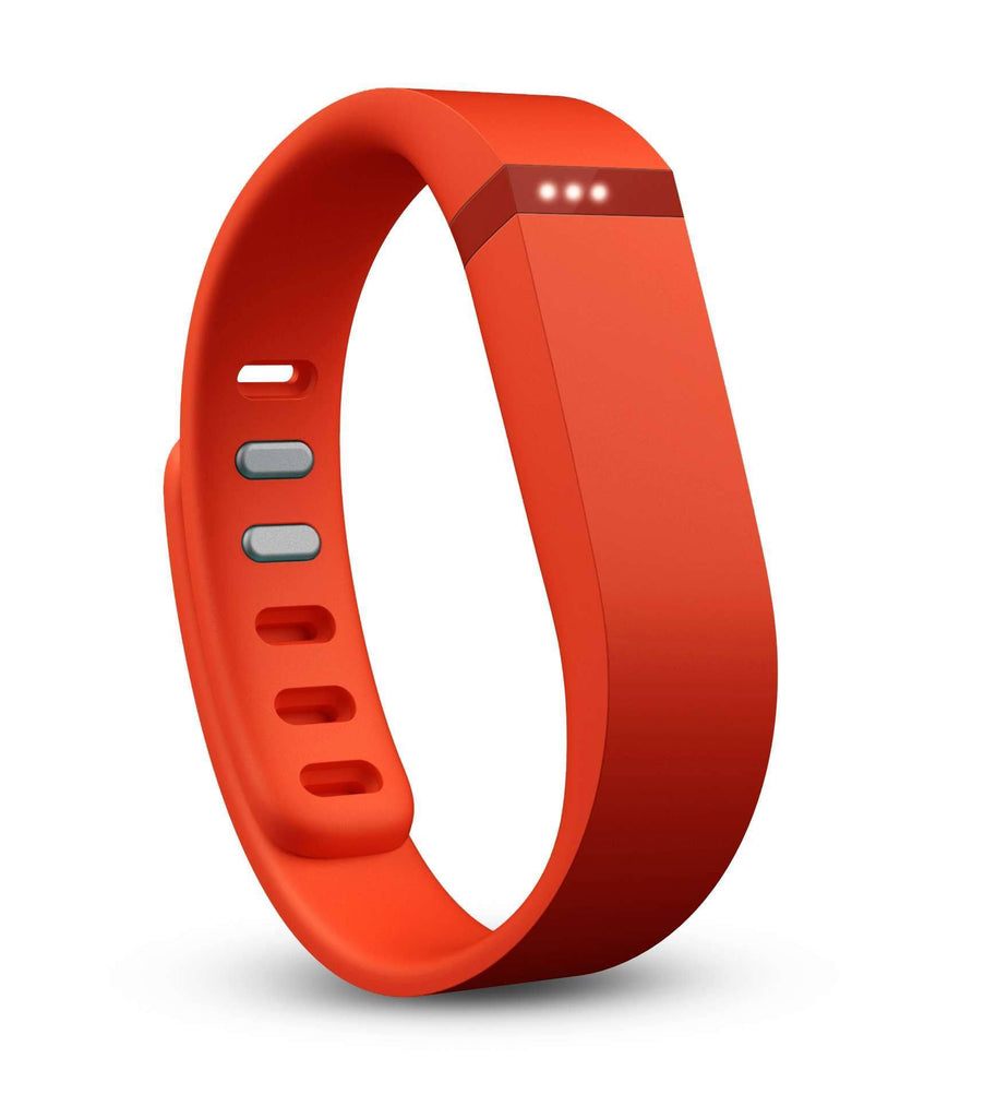Fitbit Flex Fitness Tracker Wristband - Tangerine - large - 1