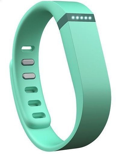 Fitbit Flex Fitness Tracker Wristband - Teal - large - 1