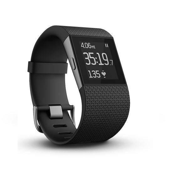 Fitbit Surge Fitness Superwatch - Black - large - 1