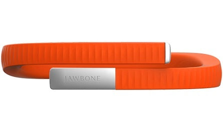 Jawbone UP 24 Fitness Tracking Wristband - Persimmon - 1