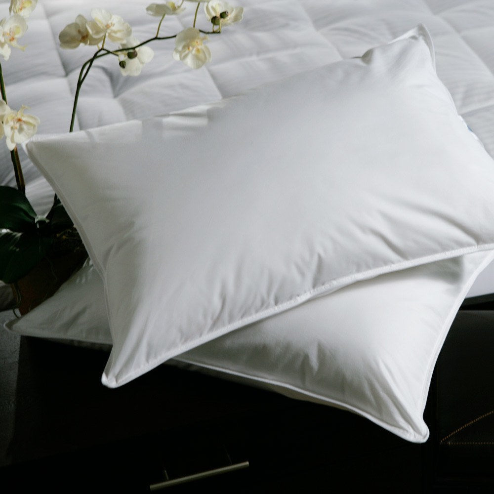 Goose Feather Down Pillow - 20/80 - large - 4