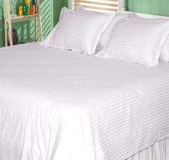 Satin Bed Sheet Set - 200 TC