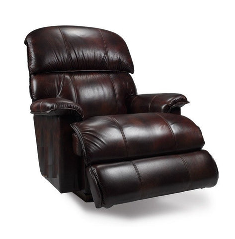 La-Z-boy Electric Leather Recliner - Cardinal - 2