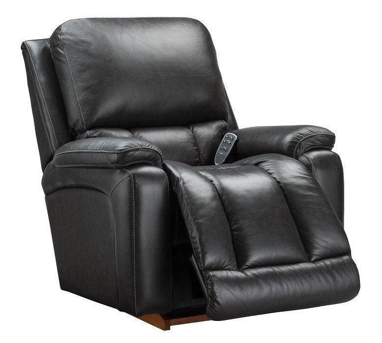 La-Z-boy Electric Leather Recliner - Greyson - large - 1