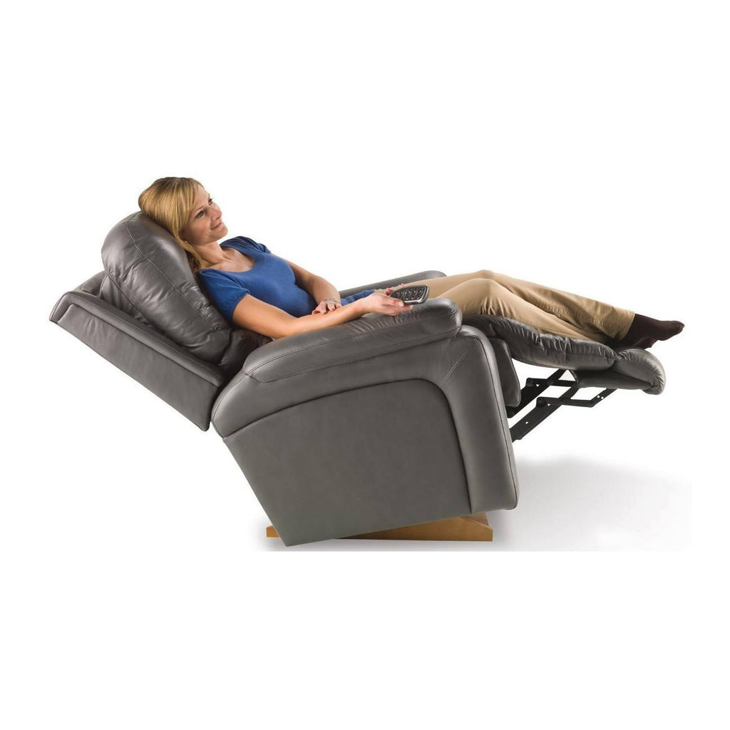 Buy La Z Boy Electric Leather Recliner Greyson Online In