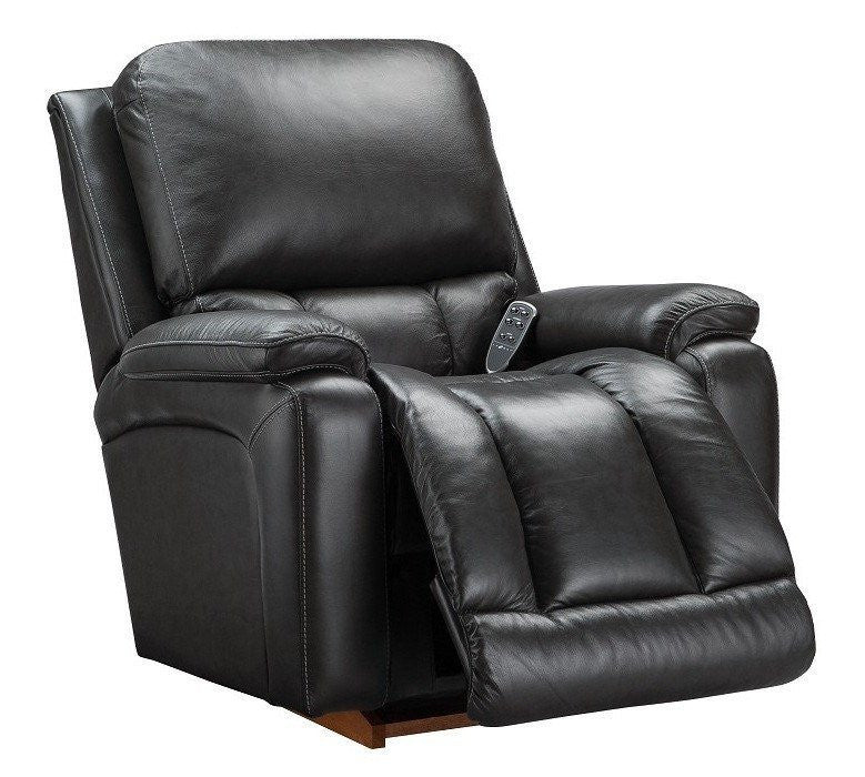 La-Z-boy Electric Leather Recliner - Greyson - large - 5