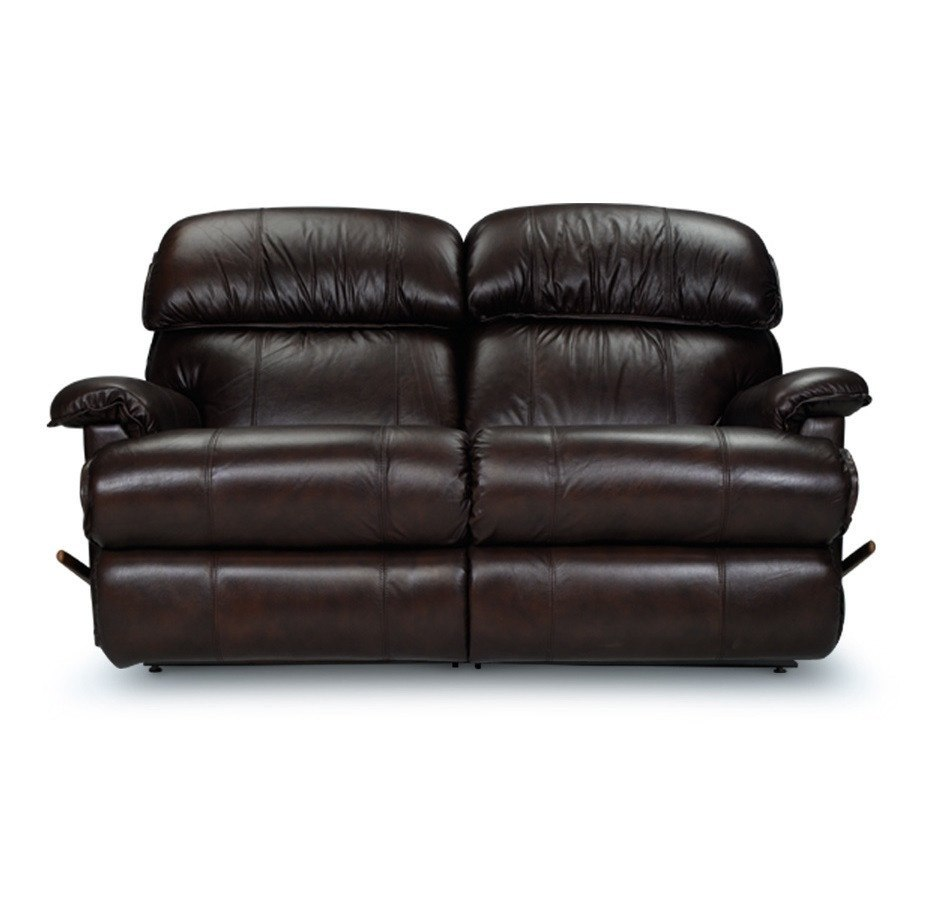 La-z-boy 2 seater leather recliner sofa - Cardinal - large - 1