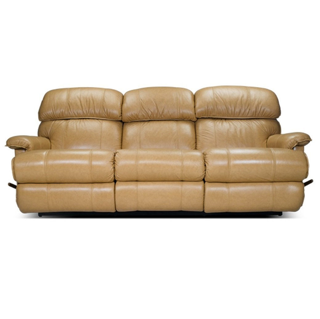 La-z-boy leather recliner sofa 3 seater - Cardinal - large - 1