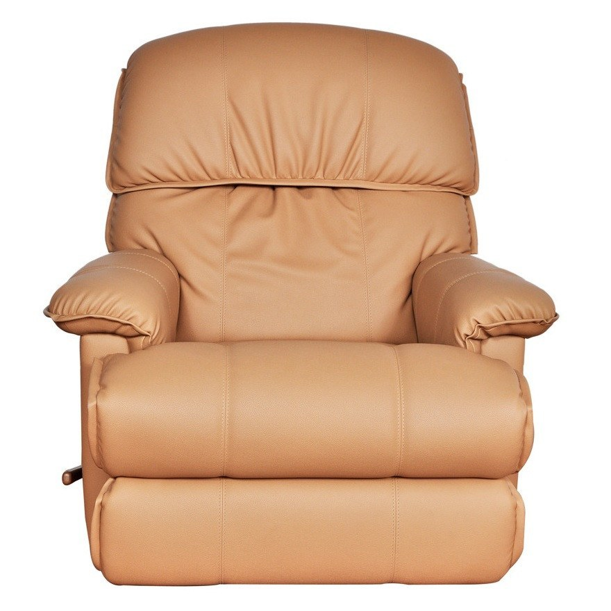 La-Z-boy Leather Recliner - Cardinal - large - 1