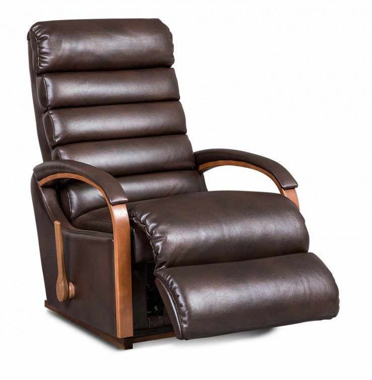 La-Z-boy Leather Recliner - Norman - large - 1