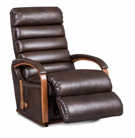 La-Z-boy Leather Recliner - Norman - 5