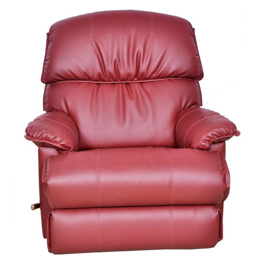 La-Z-boy Leather Recliner Swivel - Cardinal - large - 5