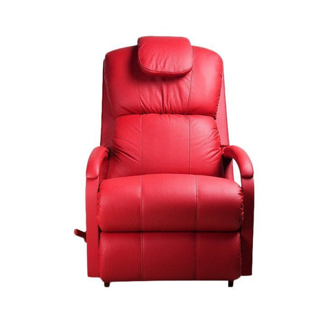 La-Z-boy Leather Recliner Swivel - Harbor Town - 5