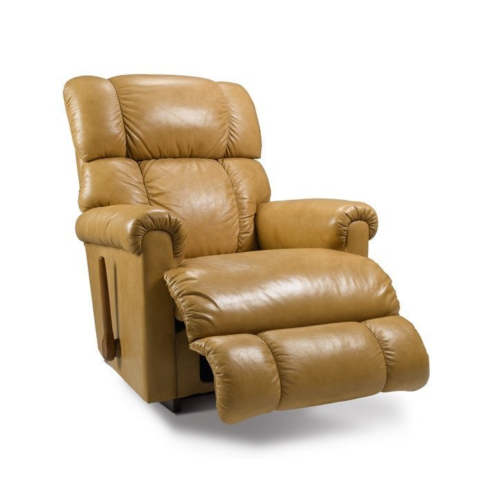 La-Z-boy Leather Recliner Swivel - Pinnacle - large - 1