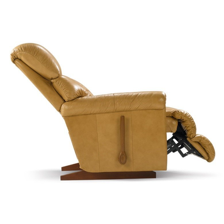 La-Z-boy Leather Recliner Swivel - Pinnacle - large - 3