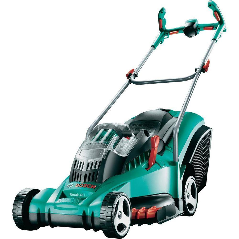 Bosch Corded Rotak 43 Lawn Mower - large - 1