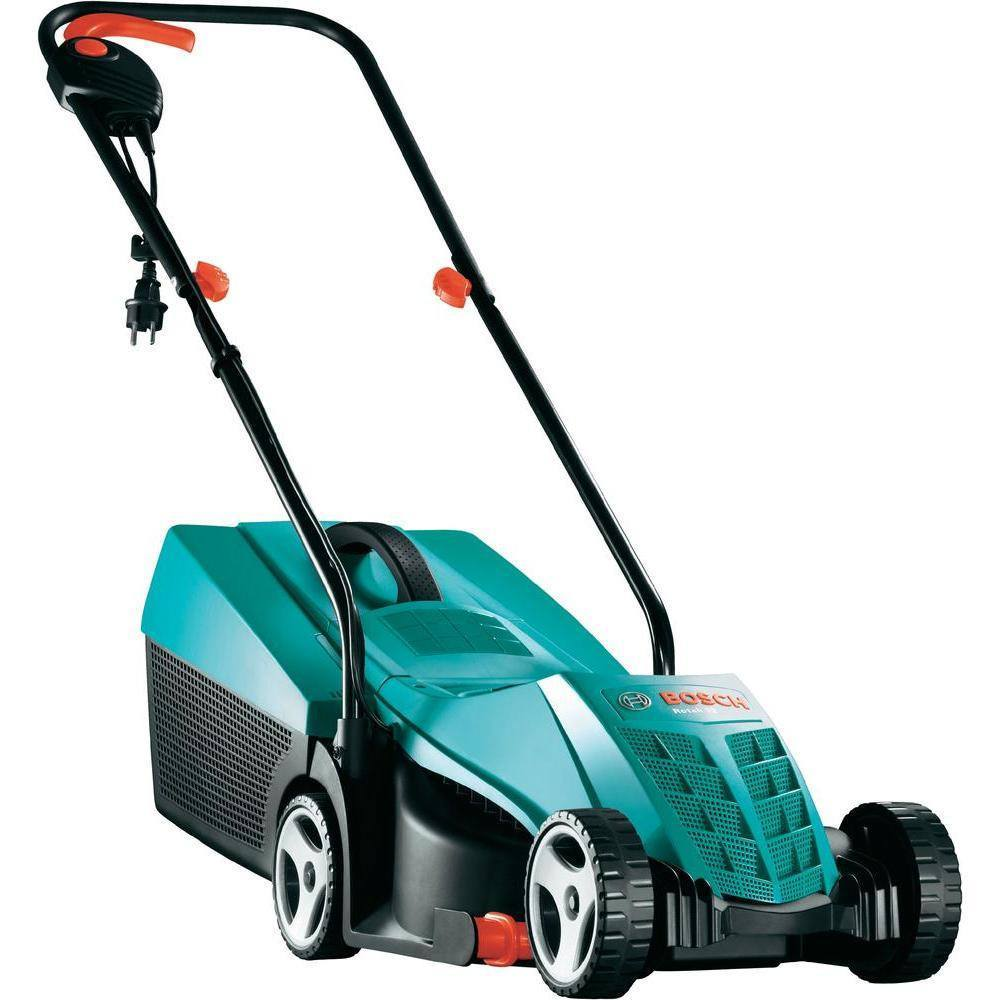 buy bosch rotak 32 electric lawn mower 32cm online in india best prices free shipping. Black Bedroom Furniture Sets. Home Design Ideas