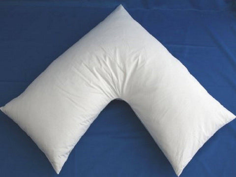 L shaped Body Pillow - Microfiber - 2