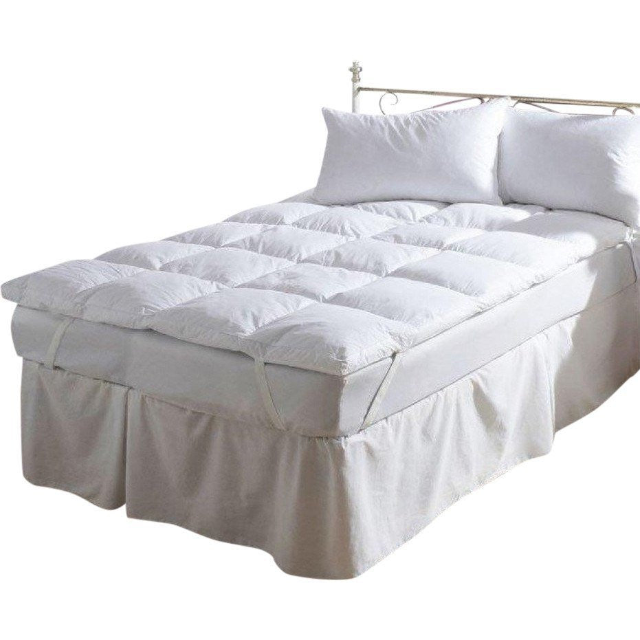 Down Feather Mattress Topper - large - 9