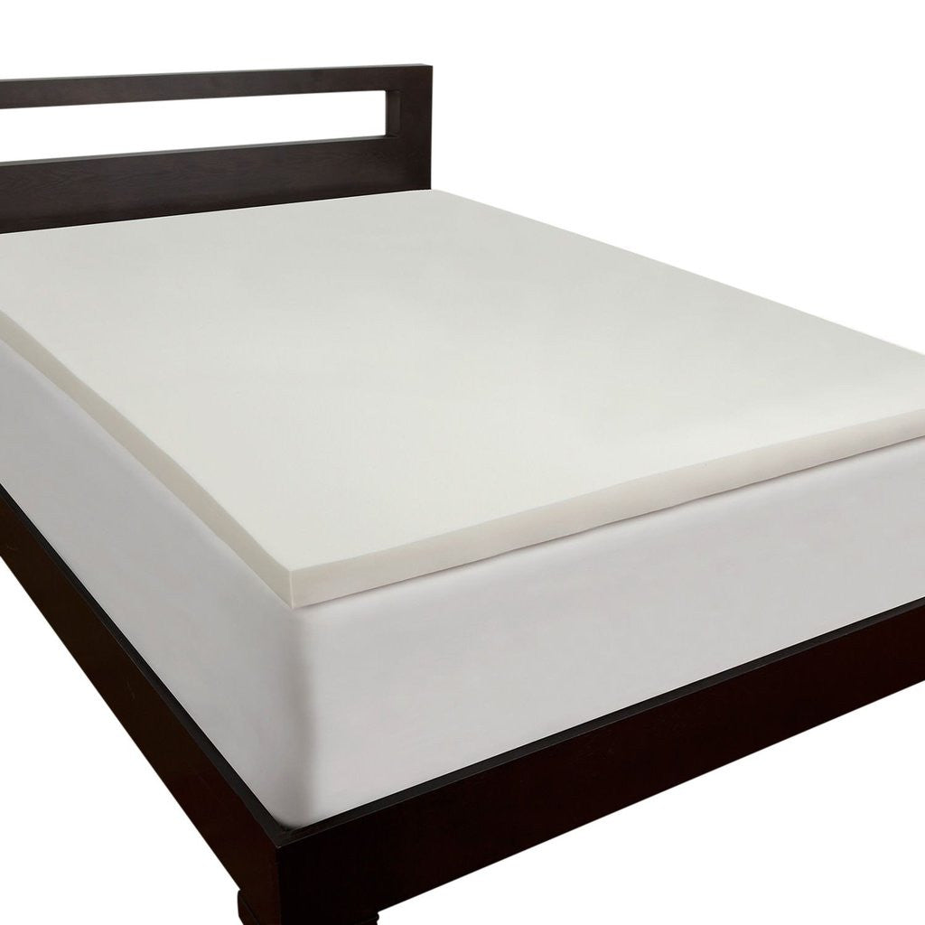 Buy Mm Foam Latex Mattress Topper Bamboo Cover Online In