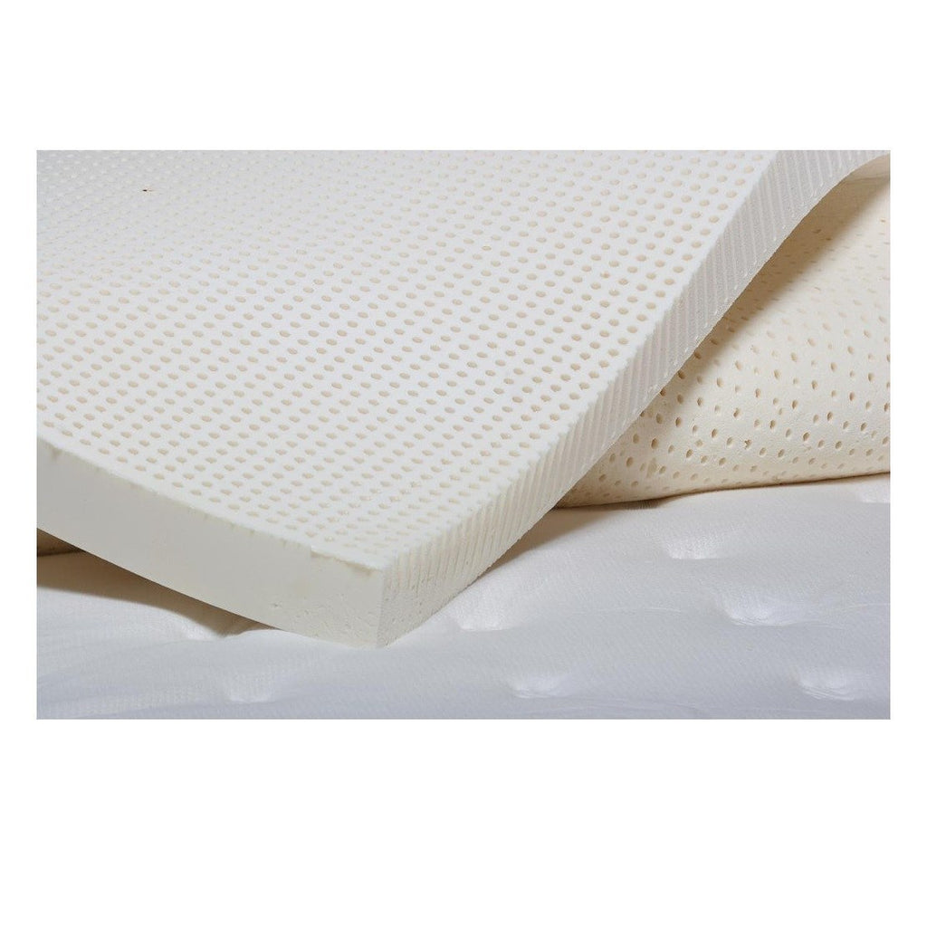MM Foam Latex Mattress Topper Knitted Cover - large - 2