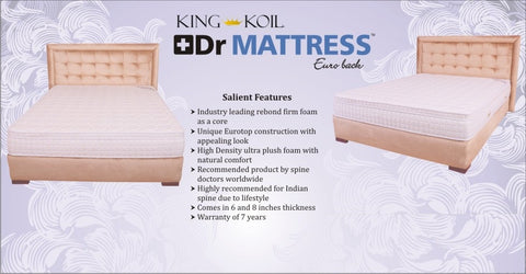 King Koil Dr Mattress Euro Back - 2