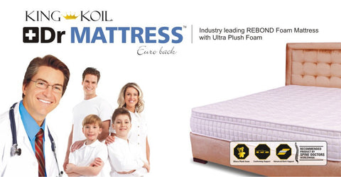 King Koil Dr Mattress Euro Back - 3
