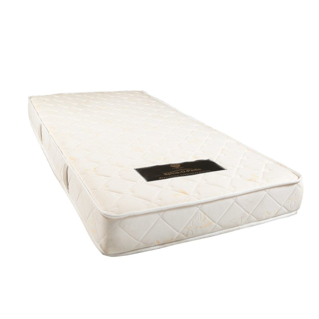 Buy spring air memory foam mattress spine o pedic online for Where to buy mattresses