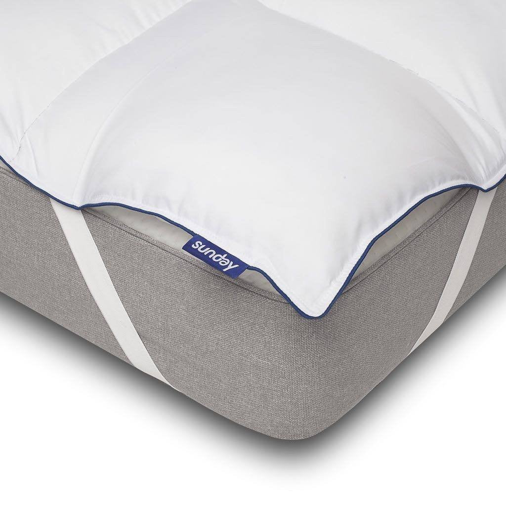 Microfibre Mattress Topper - 2 inch - large - 2