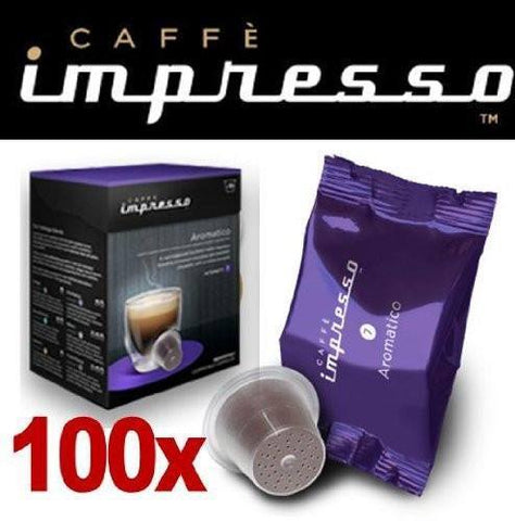 Impresso Coffee Pods Aromatico - 100 Pc - 1