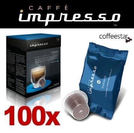 Impresso Coffee Pods Indiano - 100 Pc - 1