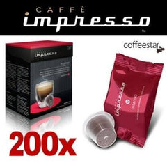 Impresso Coffee Pods Intenso - 200 Pc