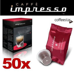 Impresso Coffee Pods Intenso - 50 Pc