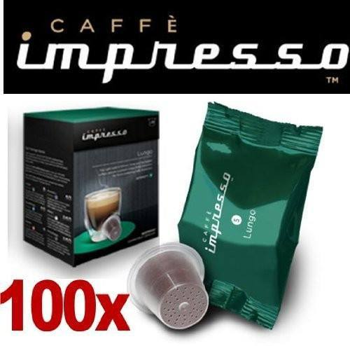 Impresso Coffee Pods Lungo - 100 Pc - large - 1
