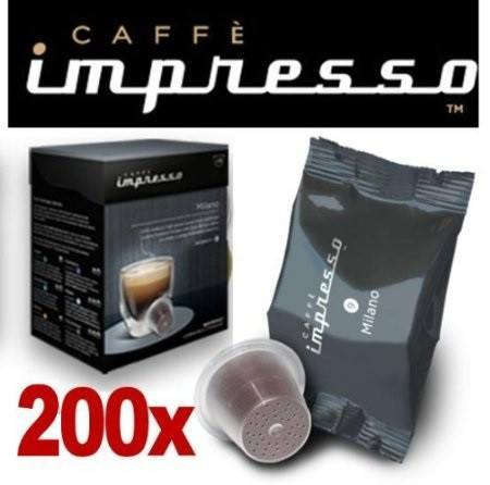 Impresso Coffee Pods Milano - 200 Pc - 1