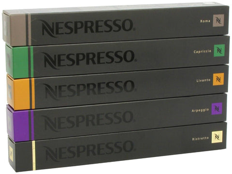 Nespresso Coffee Pods Original 50 pcs Mixed - 1