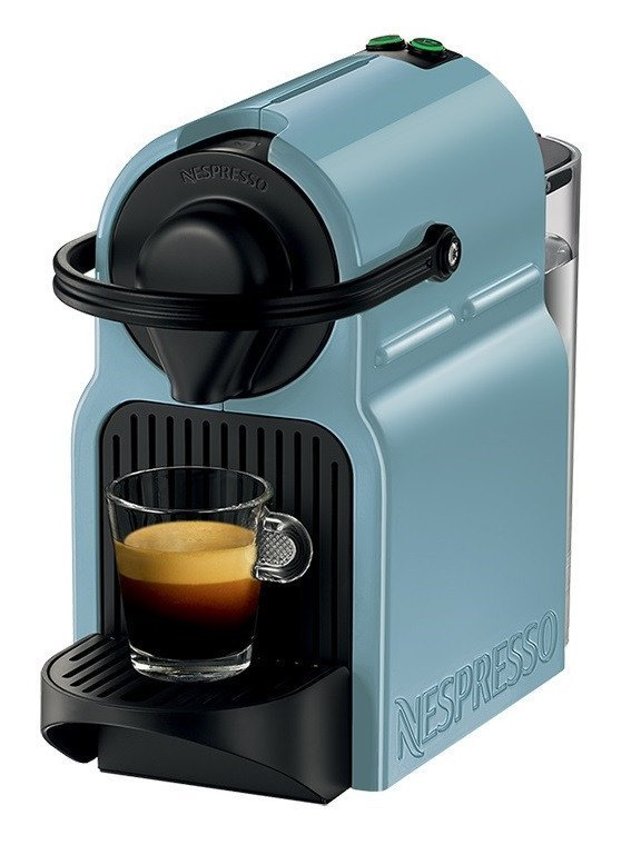Nespresso Coffee Machine Krups - Inissia Blue - large - 1