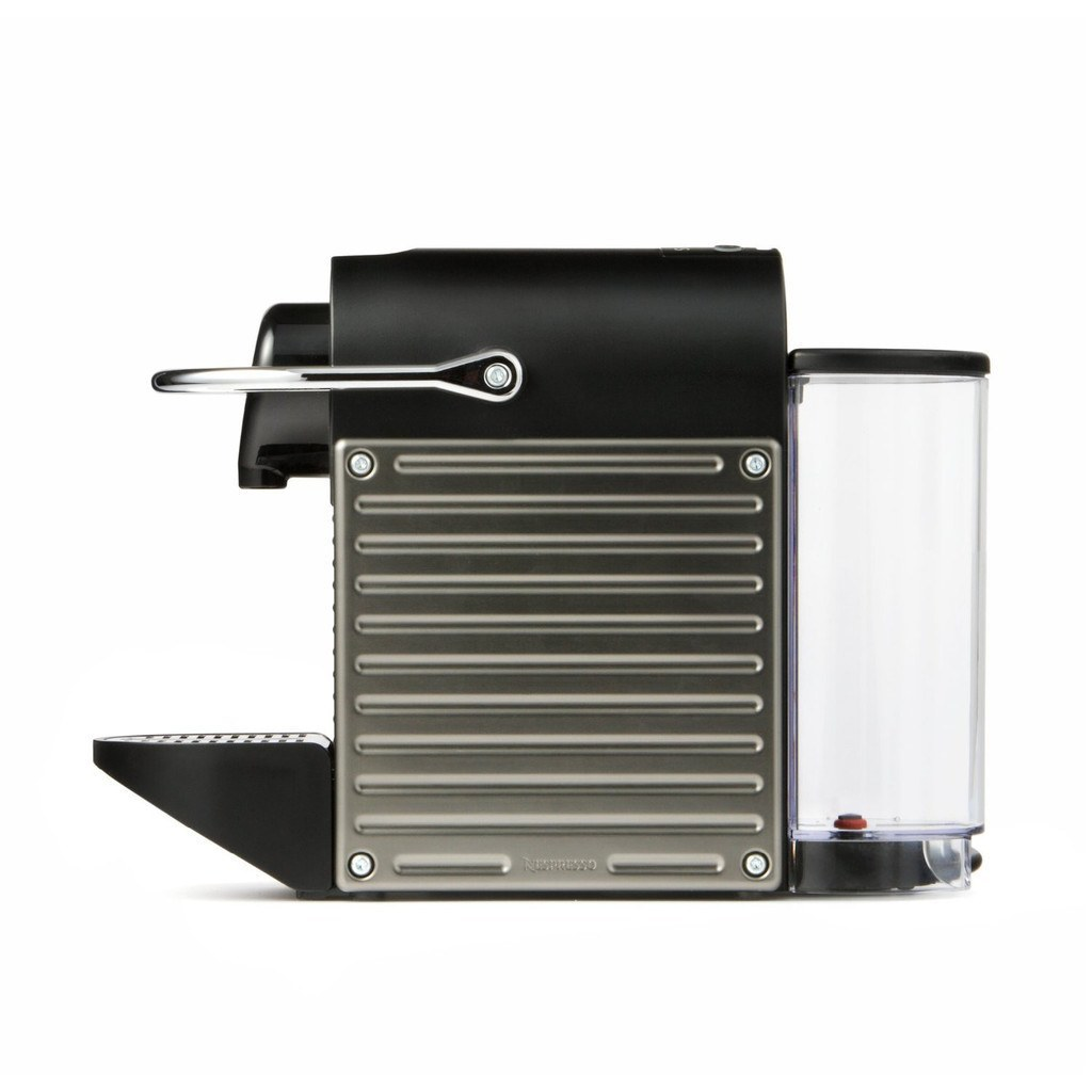 Nespresso Coffee Machine Krups Pixie - Titanium - large - 1