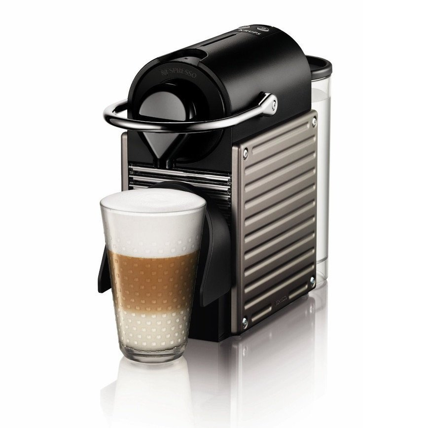 Nespresso Coffee Machine Krups Pixie - Titanium - large - 2