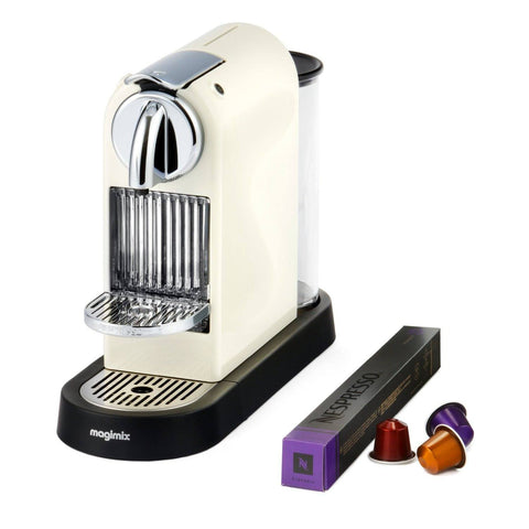 Nespresso Coffee Machine Magimix Citiz - Cream - 1