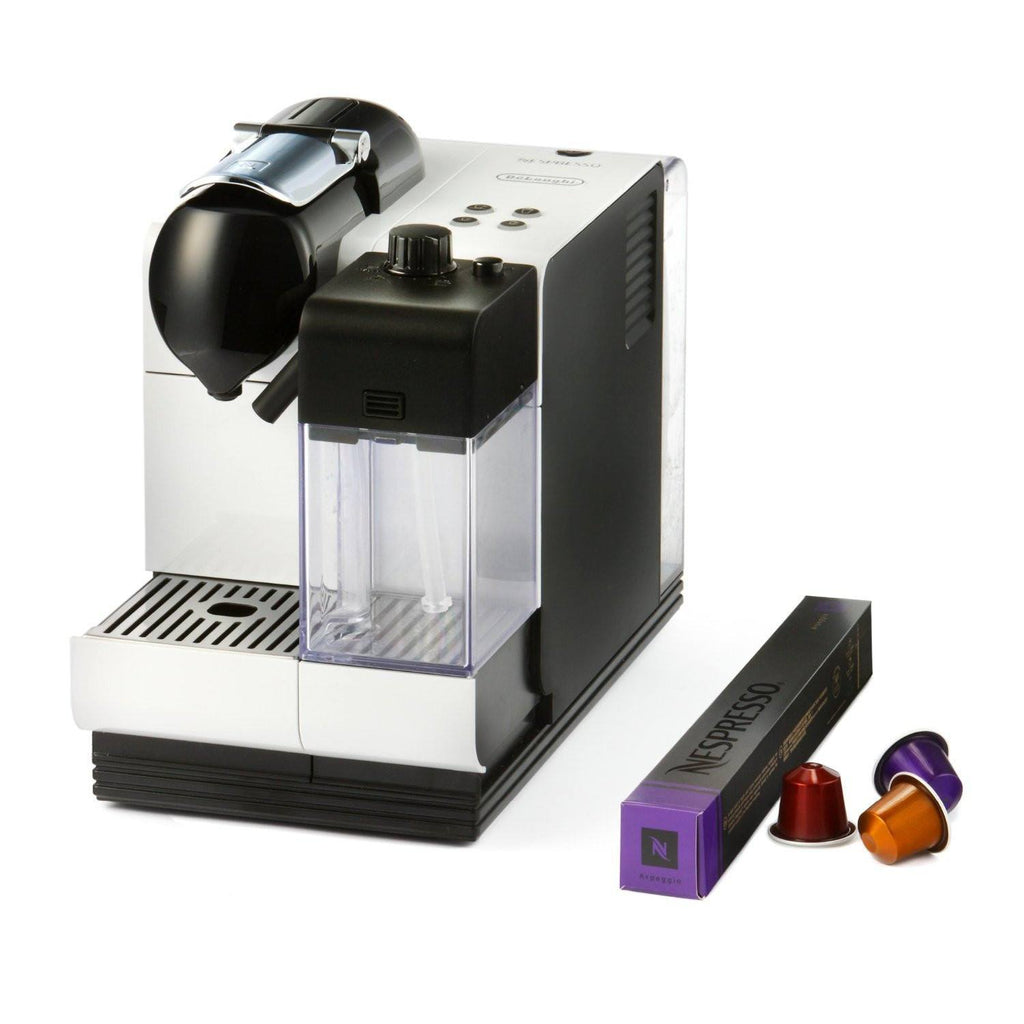 Nespresso Machine Delonghi Lattissima Plus - White - large - 1