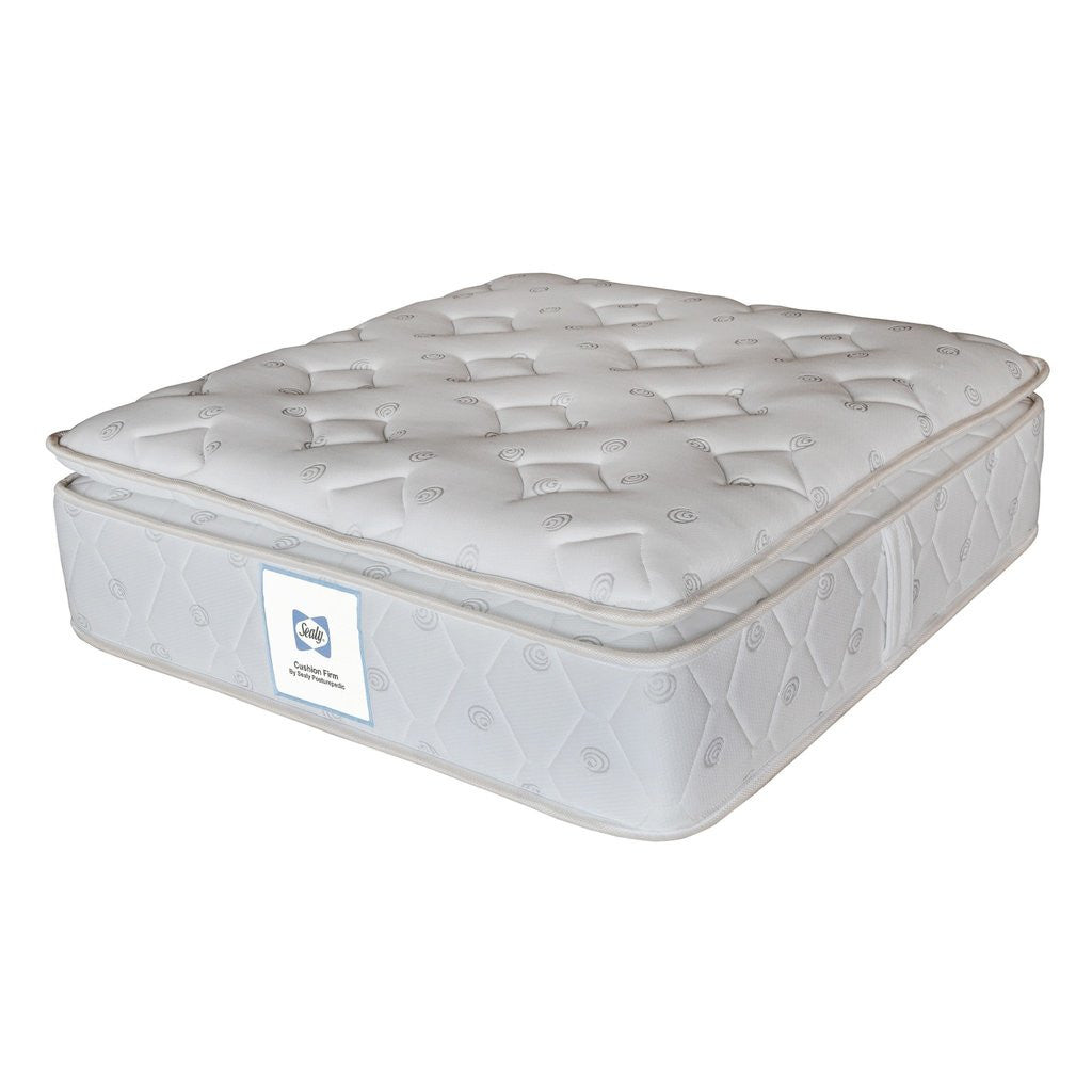 Sealy Cushion Firm Mattress - large - 4