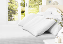 Egyptian Cotton Sheets Fitted White