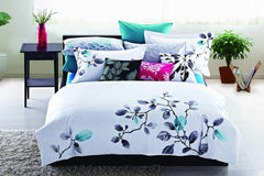 Luxury Bed Sheet Set White Nature Collection