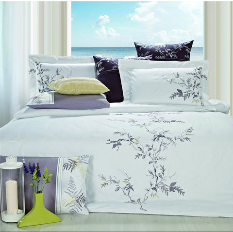 Nirvana Bed Sheet Set White Art Collection - 1